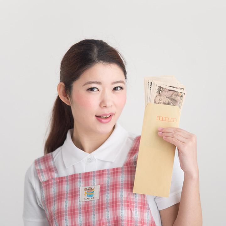 介護職員の給料事情について